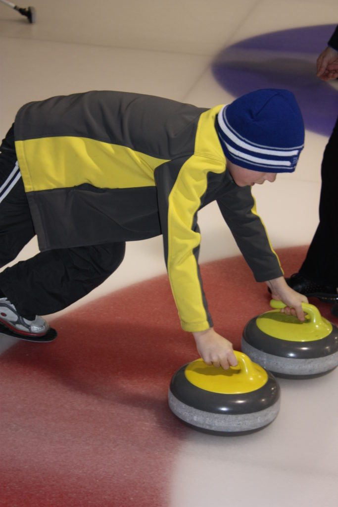 March break curling fun