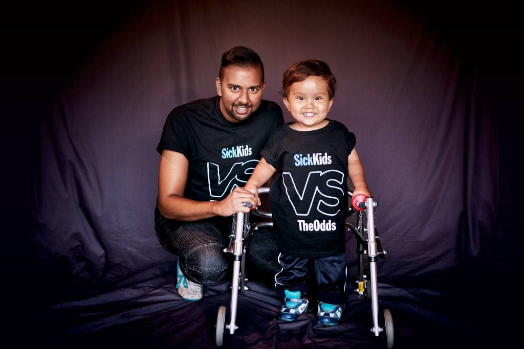 Ezra's journey with Spina Bifida is remarkable. He has shocked his world one step at a time.
