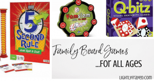 Family board games the whole family can enjoy, no matter their age.