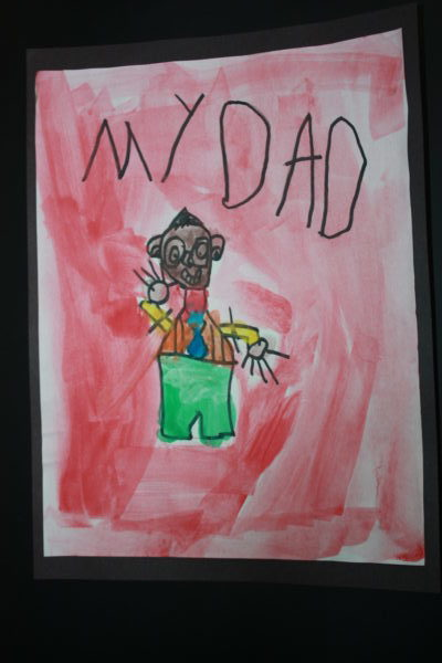 The day our son ALMOST gave my husband a nice Father's Day card.