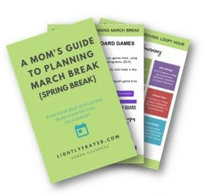 Plan march break on a budget