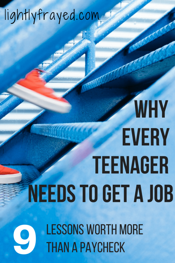 A Teenager's First Job is worth so much more than their paycheck.