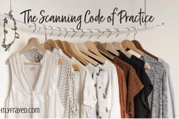 Scanning Code of Practice: Canadian Money Saving Tip