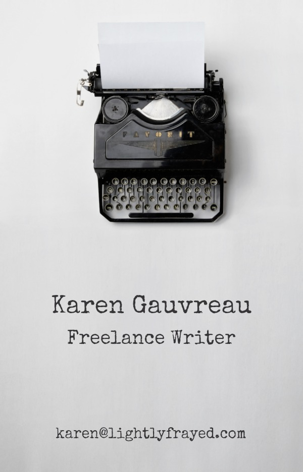 Karen Gauvreau Freelance Writer