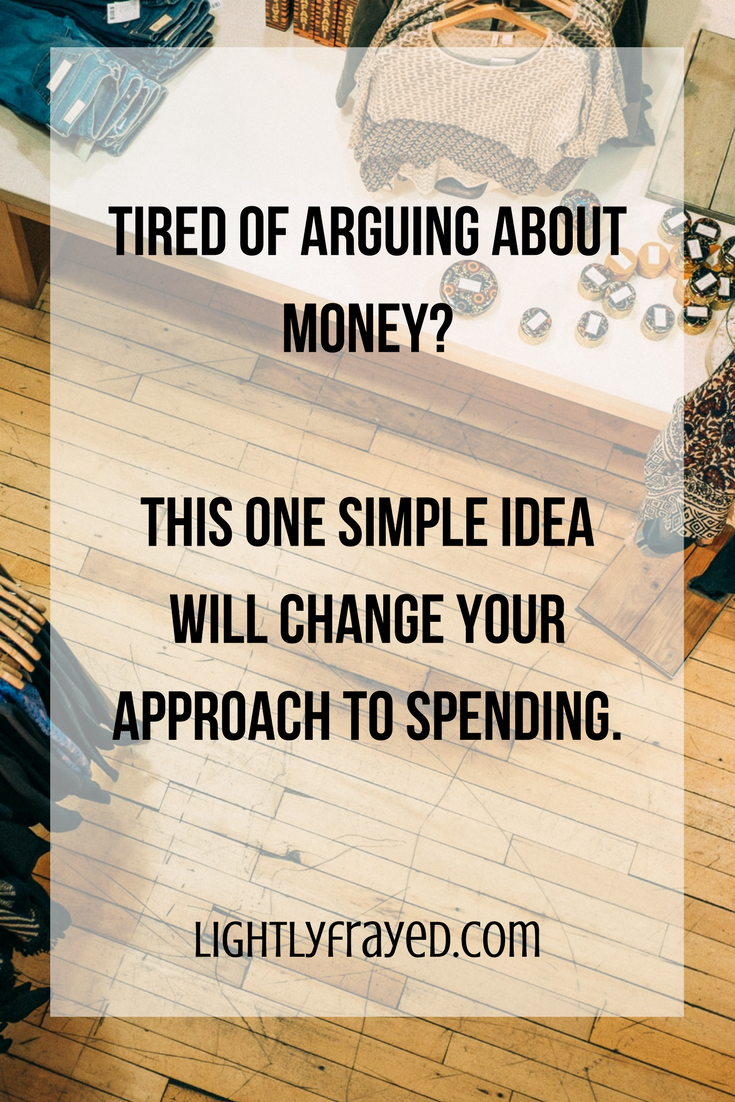 Tired of arguing about money? Learn this one simple trick to help spenders and savers manage money.
