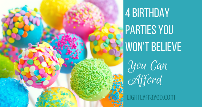 affordable birthday party