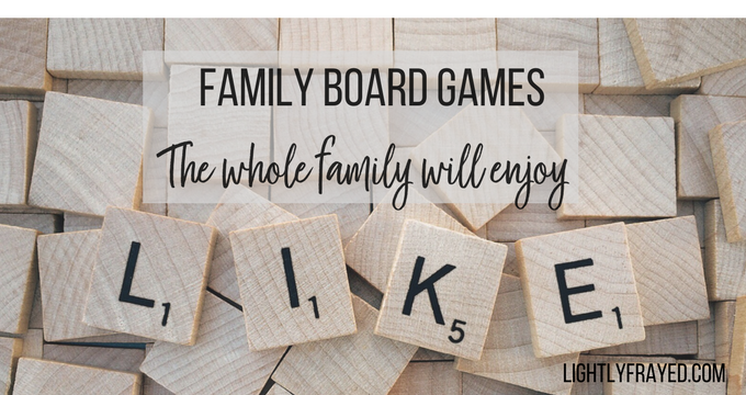 Family board games everyone will enjoy. No more forced family fun.