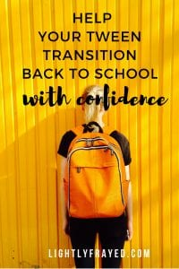 Help Your Tween Transition Well and Feel Less Awkward.