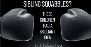 Siblings Fighting? These Children Worked it Out Brilliantly