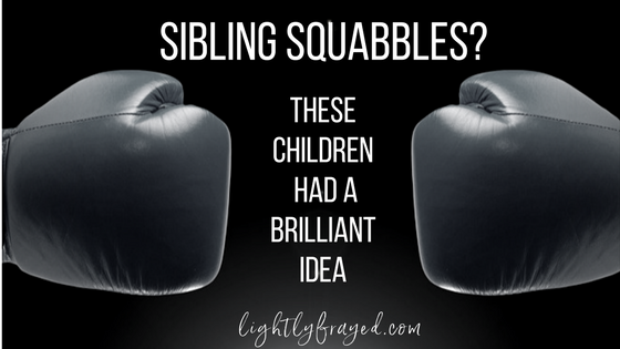 This Mom could not believe how her kids resolved their own sibling fights in a mature, calm way.
