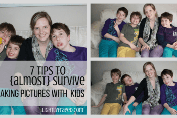 7 Tips to Survive Taking Pictures of Children