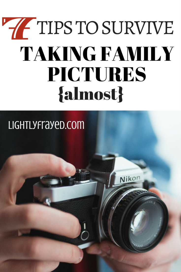 """""""Taking pictures of our children all together is so easy,"""" said no Mom ever."""
