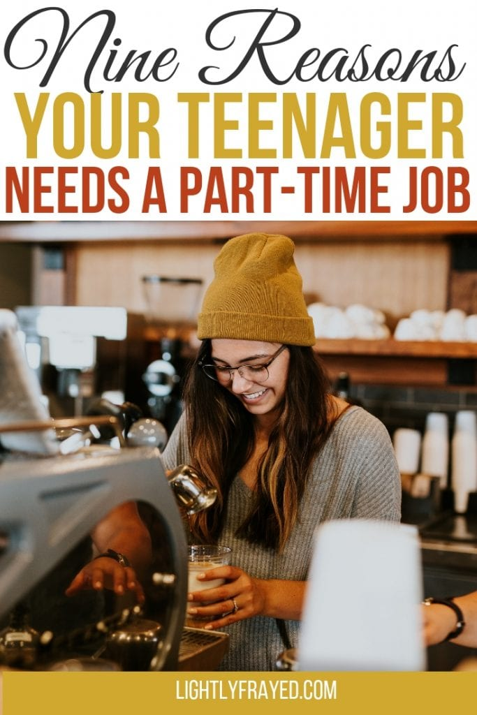 A teenager's first job can teach so many lessons. Work ethic, time management and interpersonal skills